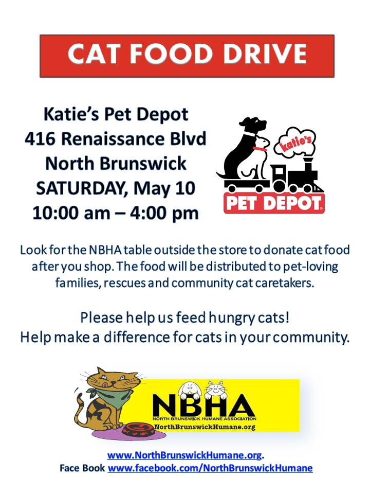 Katie's NBHA Cat Food Drive May 10 (1)