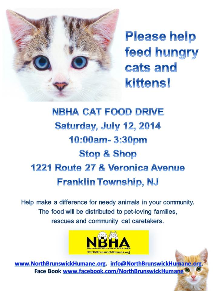Franklin Stop&Shop Cat Food Drive