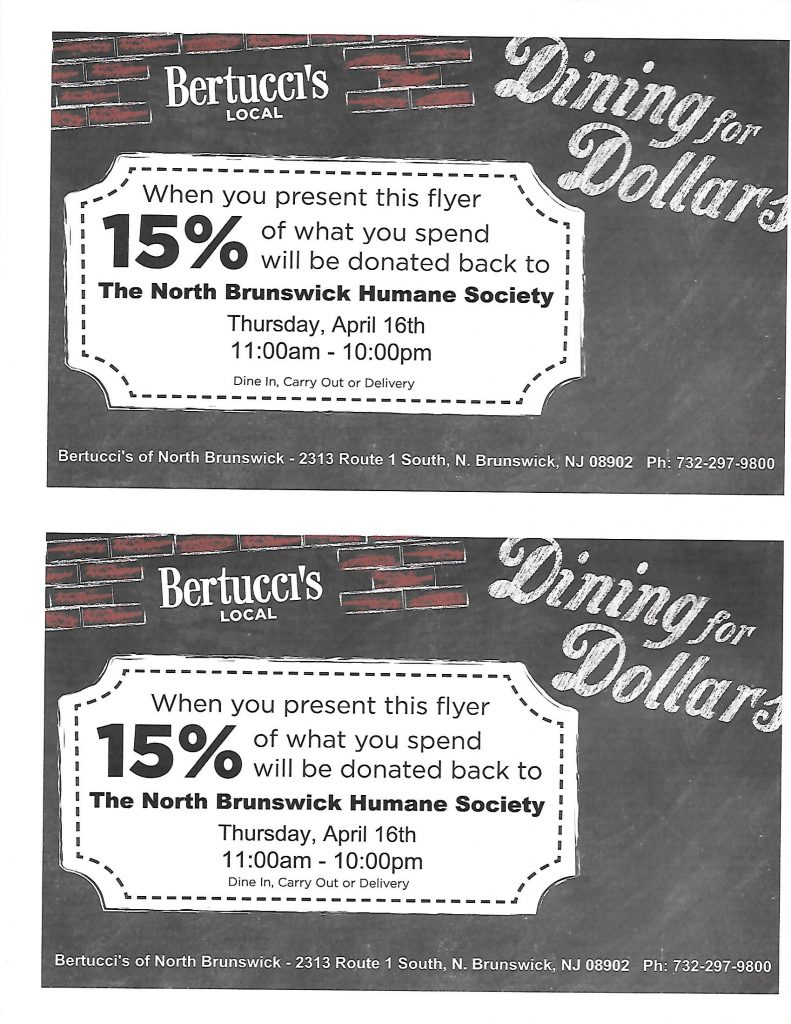 Bertucci's April 2015